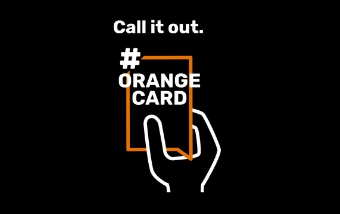 That's an #OrangeCard – Call it Out